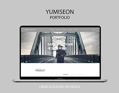 UI UX frontend develop(re-design), 웹페이지, bang&olufsen