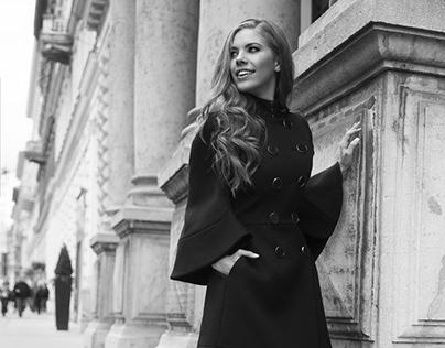 Victoria Swarovski pop singer & TV presenter.