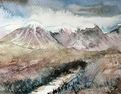 Mountain Stream, Skye