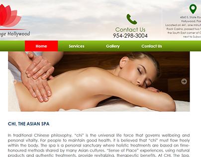 Sitio Web: Asian Massage Hollywood