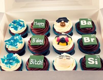 Breaking Bad Cupcakes