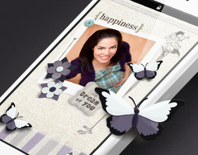 Belly Scrapbook App