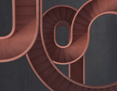 Red Stair Study