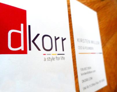 Dkorr: Branding