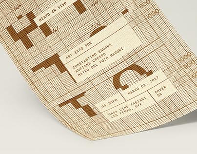 HIATO - Music poster