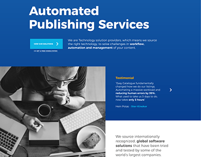 Automated Publishing Services - Website