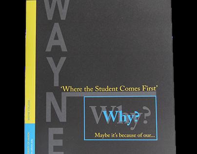 Why Wayne? brochure