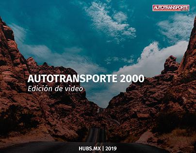 Autotransportes 2000 edición de video
