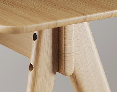 HBF — Note Desk by OEO Studio