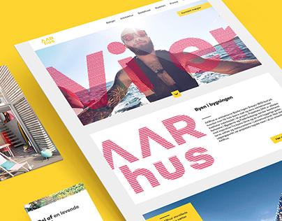 AARhus i Aarhus - UI & webdesign