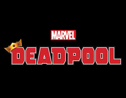 King Deadpool Logo Design