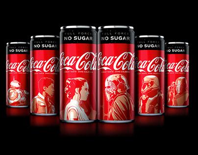 Coca Cola edición Star Wars