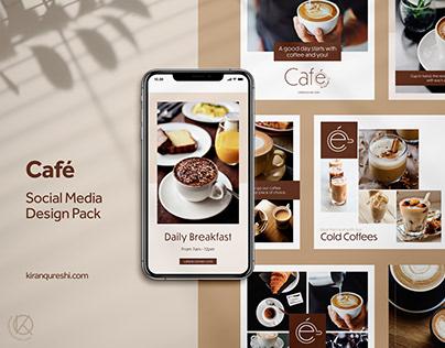 Social Media Pack | Café