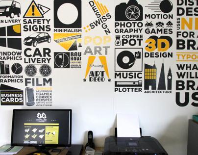 Sprucing the Studio