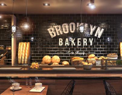 3D visualisatie | Bakery