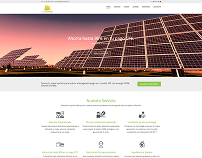 Diseño web solyenergia.com