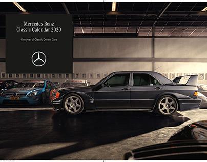 Mercedes-Benz Classic Calendar 2020