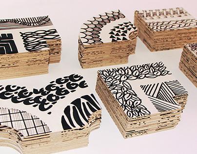 Cardboard Alphabet