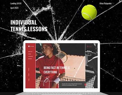 Tennis Lessons   Landing Page