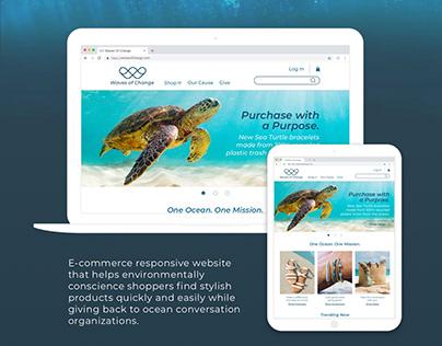 Waves Of Change - Responsive Web Design