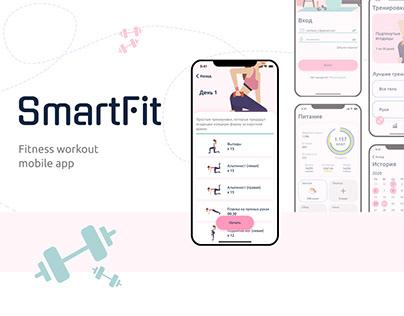 Mobile app for fitness