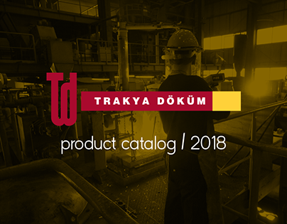 Trakya Dokum / Product Catalog 2018
