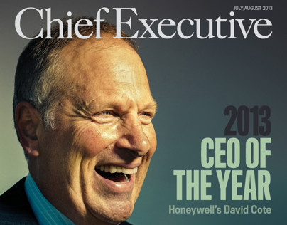 Chief Executive Magazine Spread