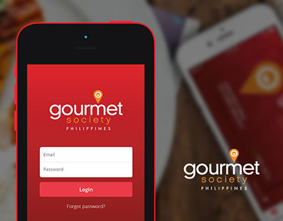 Gourmet Society PH - Mobile App