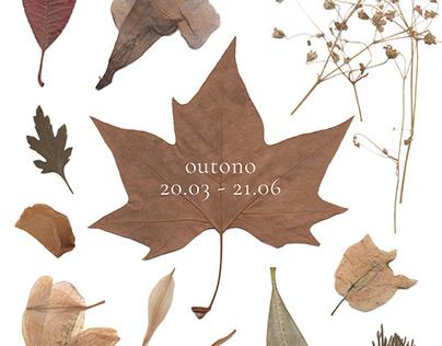 Pôster de outono