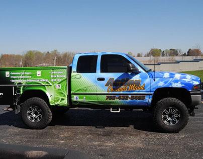 Action Outdoor Maint. Truck Design