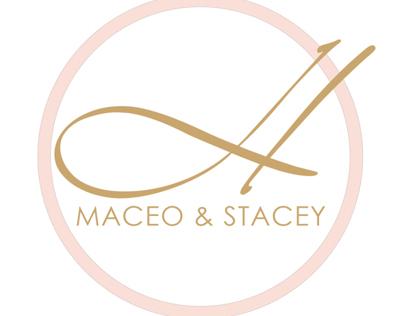 Maceo & Stacey Wedding Monogram