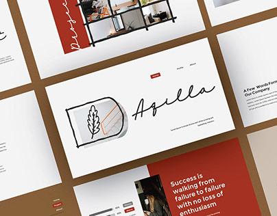 Free Aqilla Presentation Template