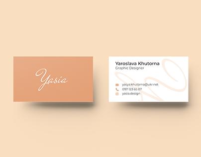 Business card_Yasia