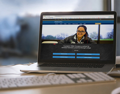 Principia School and College Responsive Website
