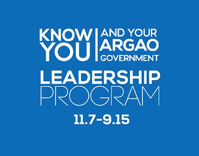 Argao Student Leadership Program   Concept Design