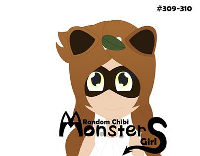 Random Chibi monster girl 309-310