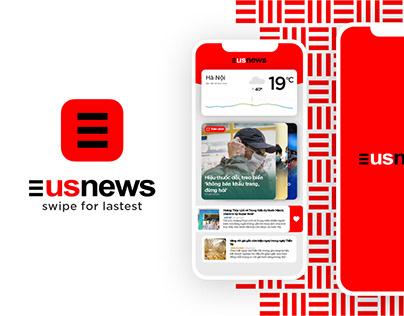UsNews UI/UX   by Christ Design