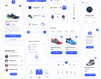 Components Free UI kit