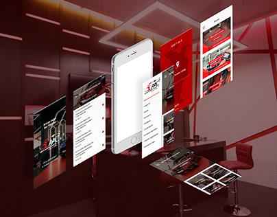 Приложение Автосервиса / Auto Service Application