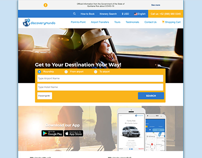 Discoverymundo a project for international travelers.