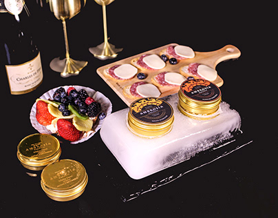 AMBROSIA: Caviar Branding