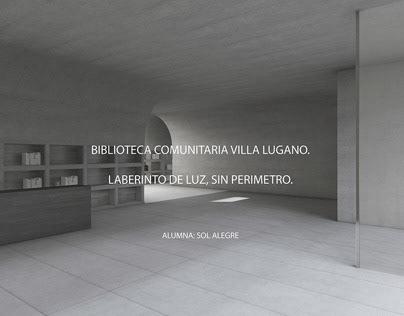 BIBLIOTECA COMUNITARIA VILLA LUGANO. PROYECTO JURY