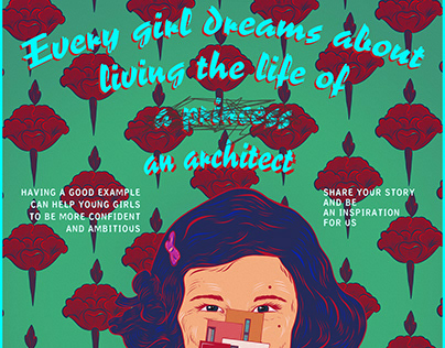 every girl dreams | poster
