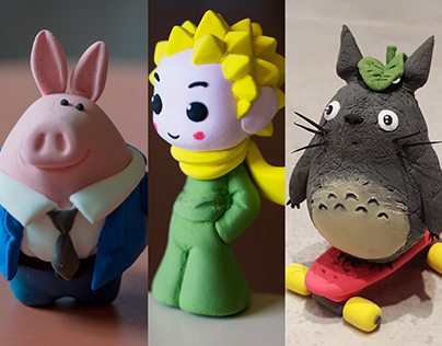 A prince a pig and a Totoro