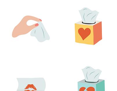 Kleenex Emoji Keyboard