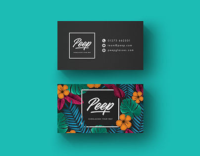 Peep branding