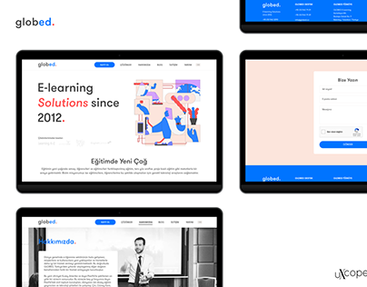 Globed.co Responsive Web Design