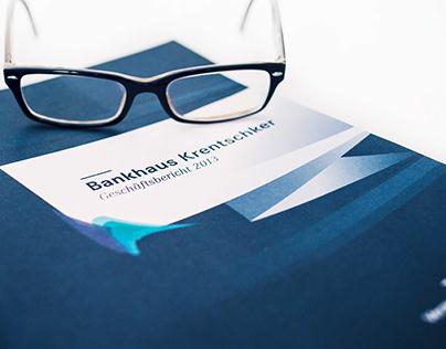 Bankhaus Krentschker | Corporate Design