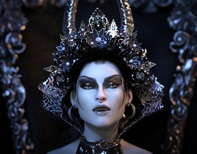 Black Queen 3D Rendering