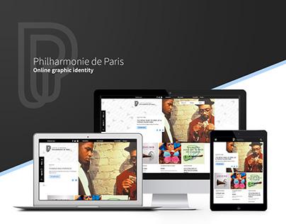 Philharmonie de Paris Website Design